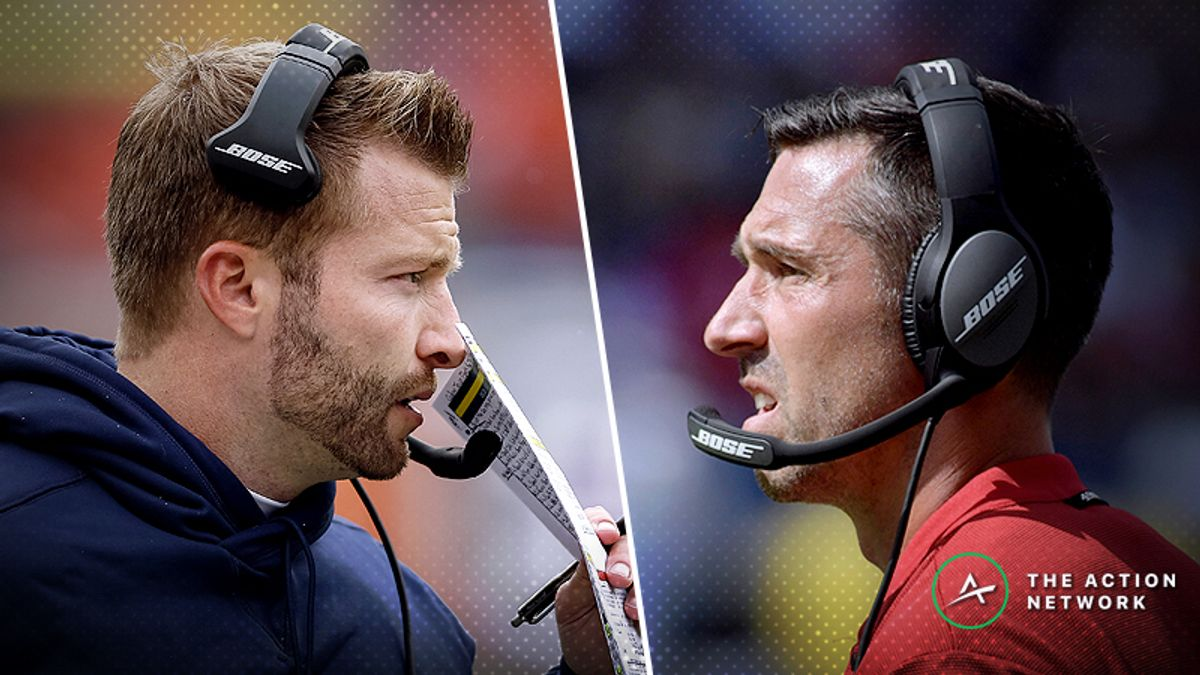 Rams-49ers Betting Preview: How to Find Value When Two Offensive Gurus Meet article feature image