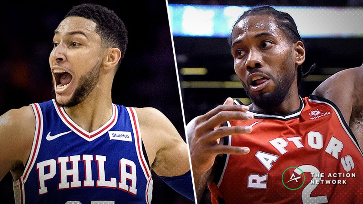 76ers-Raptors Betting Guide: How to Bet This Over/Under article feature image