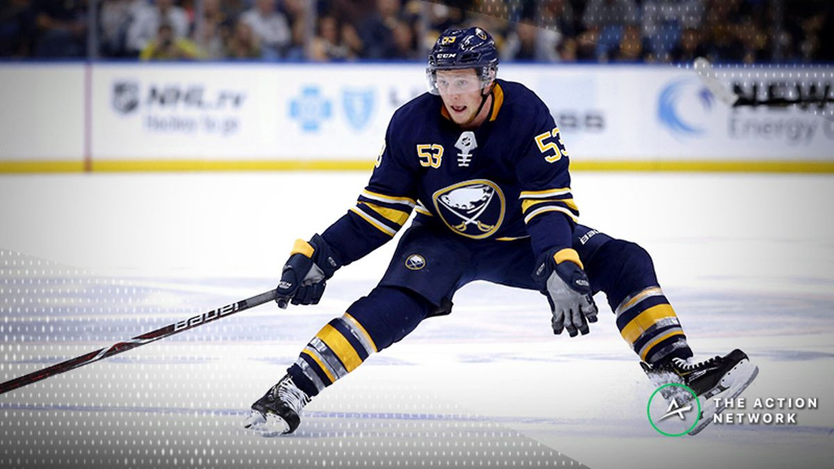 Top NHL Prop Bets for Tuesday: Jeff Skinner Over/Under 3.0 Total Shots on Goal? article feature image