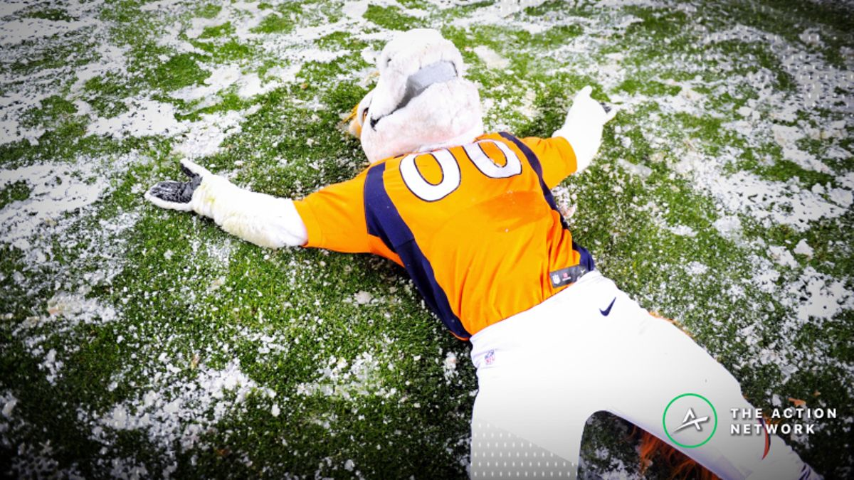 NFL Week 6 Weather Report: October Snow Coming to Mile High Stadium article feature image