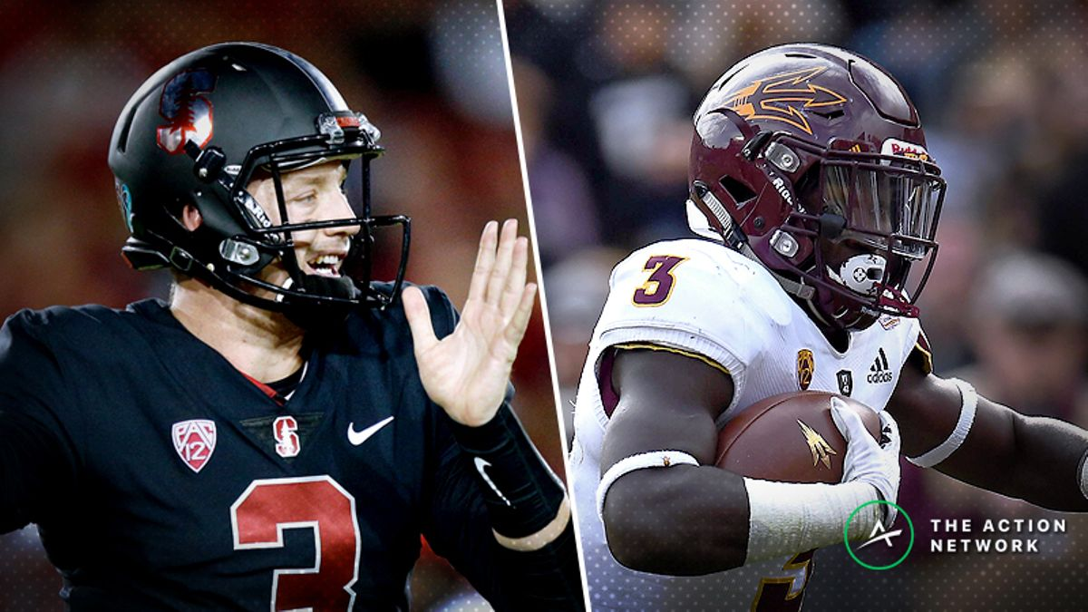 Pros Hammering Thursday Night's Stanford-Arizona State Over/Under article feature image