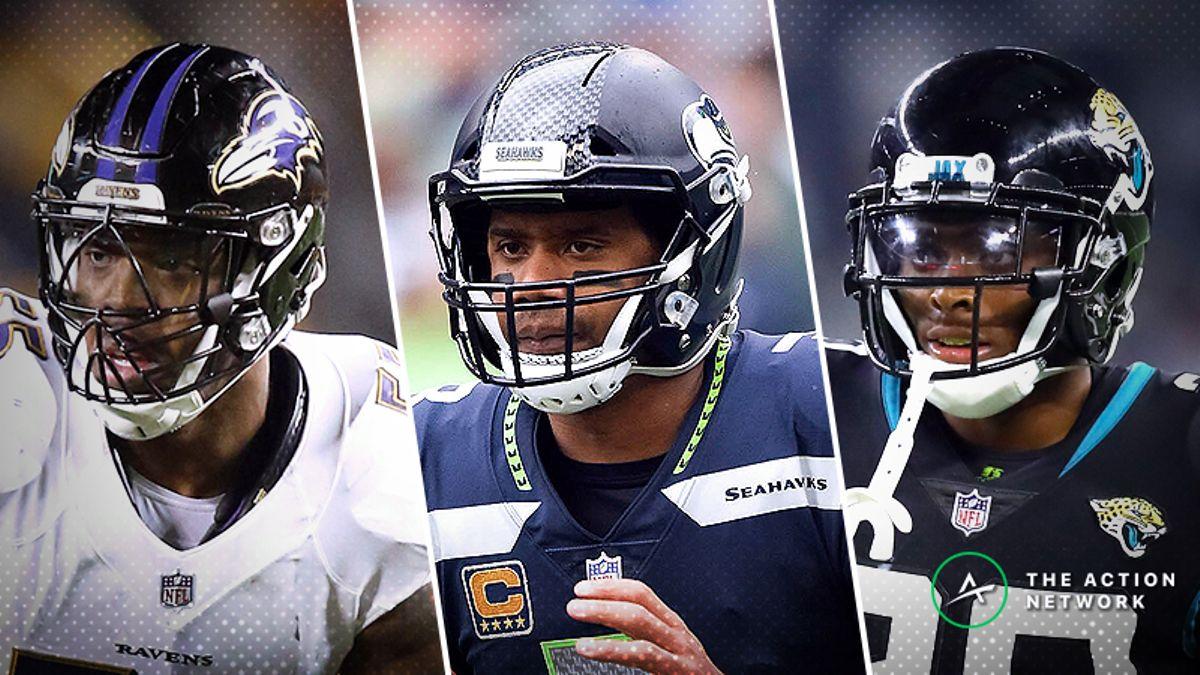 NFL Expert Picks: Ravens-Panthers, Jaguars-Eagles, More Week 8 Bets article feature image