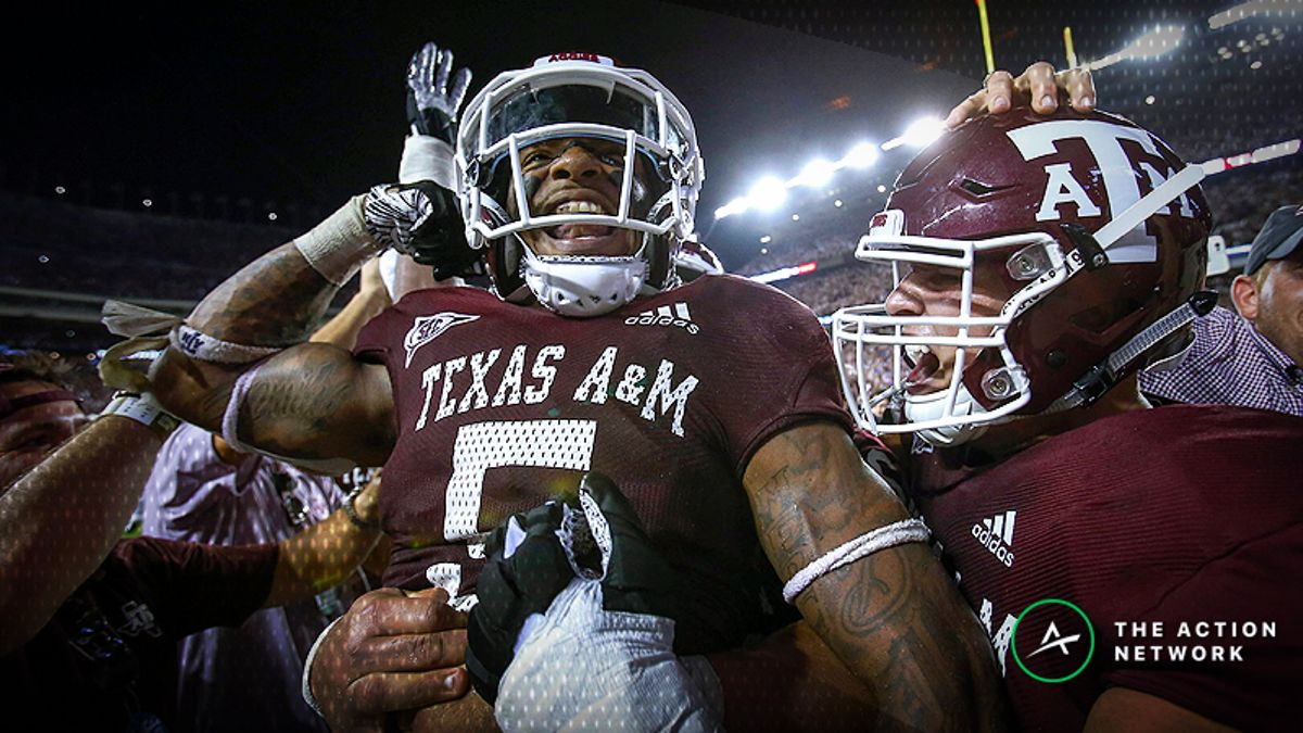 Texas A&M, Florida Lead Week 7's Most Popular College Football Bets article feature image