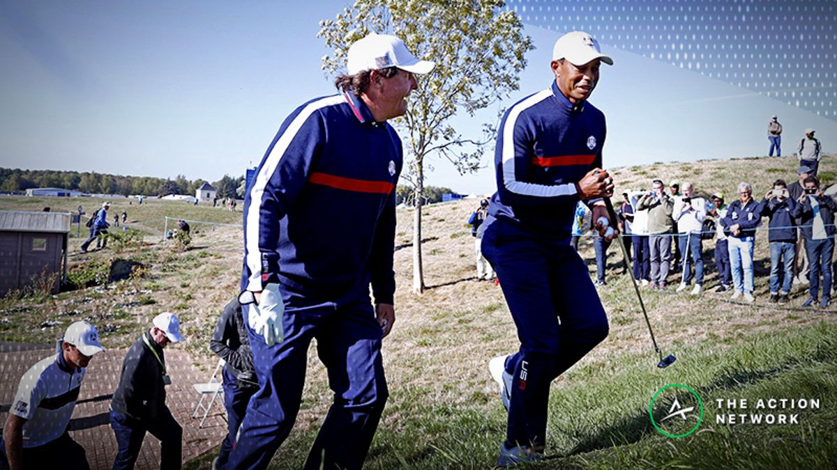 Tiger vs. Phil Will Cost $19.99. Here Are Some Early Bets to Make Your Money Back article feature image