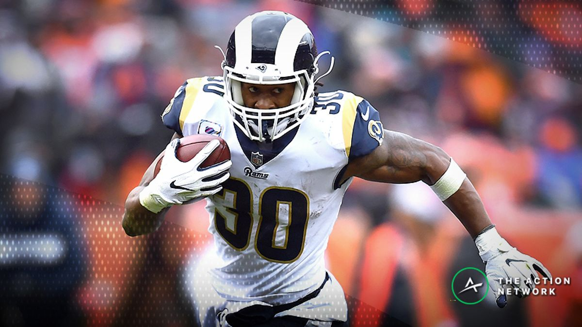 Koerner's Week 7 Fantasy Football RB Tiers: One Red Flag With Todd Gurley article feature image