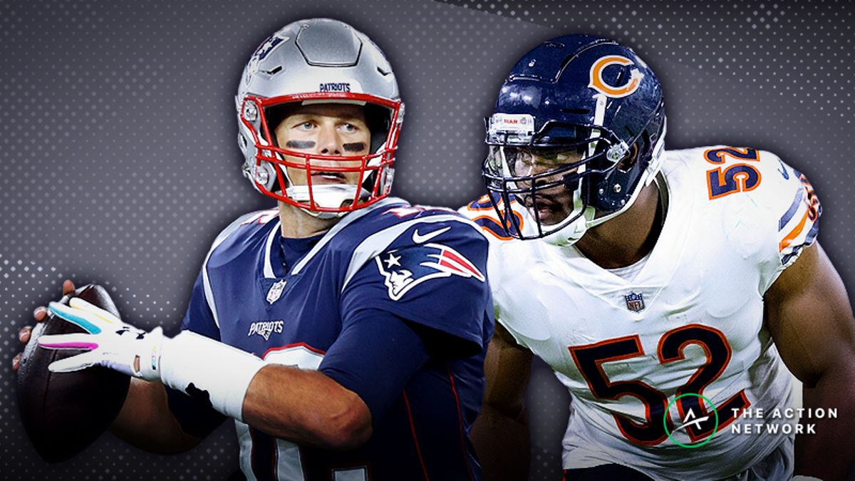 Patriots-Bears Betting Preview: Is New England a Good Bet as Small Favorite? article feature image