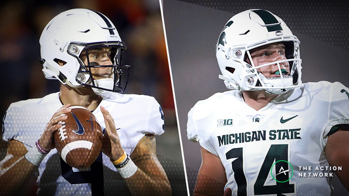 Penn State-Michigan State Betting Guide: Which Spartans Will We Get? article feature image