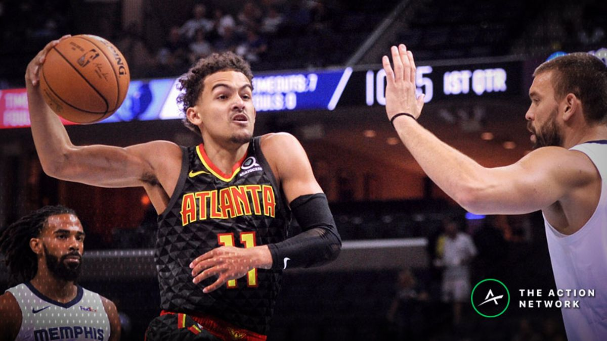 Wob: Trae Young Pulls Up From Outer Space to Hit Game Winner article feature image