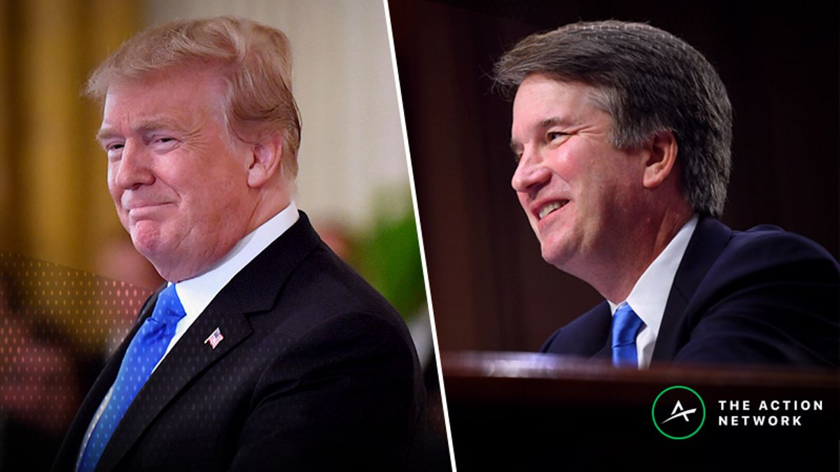 Brett Kavanaugh Now Massive Favorite to Be Confirmed Following FBI Report article feature image