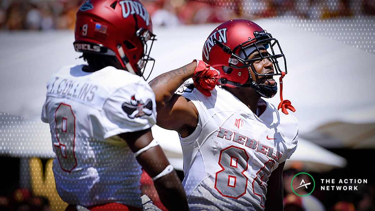 Betting Air Force-UNLV: Rebels Have Rebounded from Loss of Star Quarterback article feature image