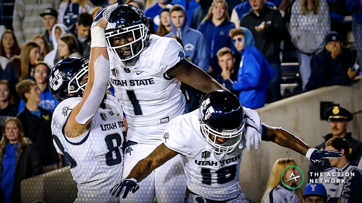 Most Popular College Football Week 8 Bets: Utah State Getting Lots of Love article feature image