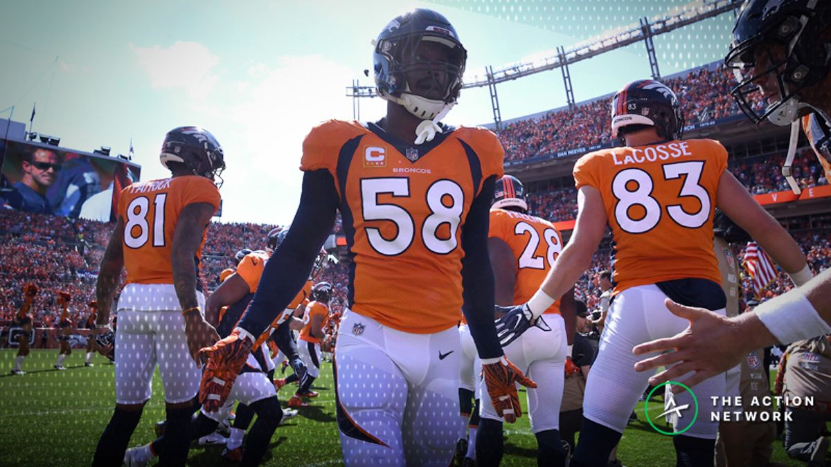 Broncos-Jets Betting Preview: Will Denver Bounce Back on the Road? article feature image