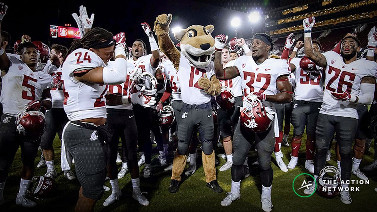 2018 College Football National Championship Odds: Washington State Climbing After Week 9 article feature image