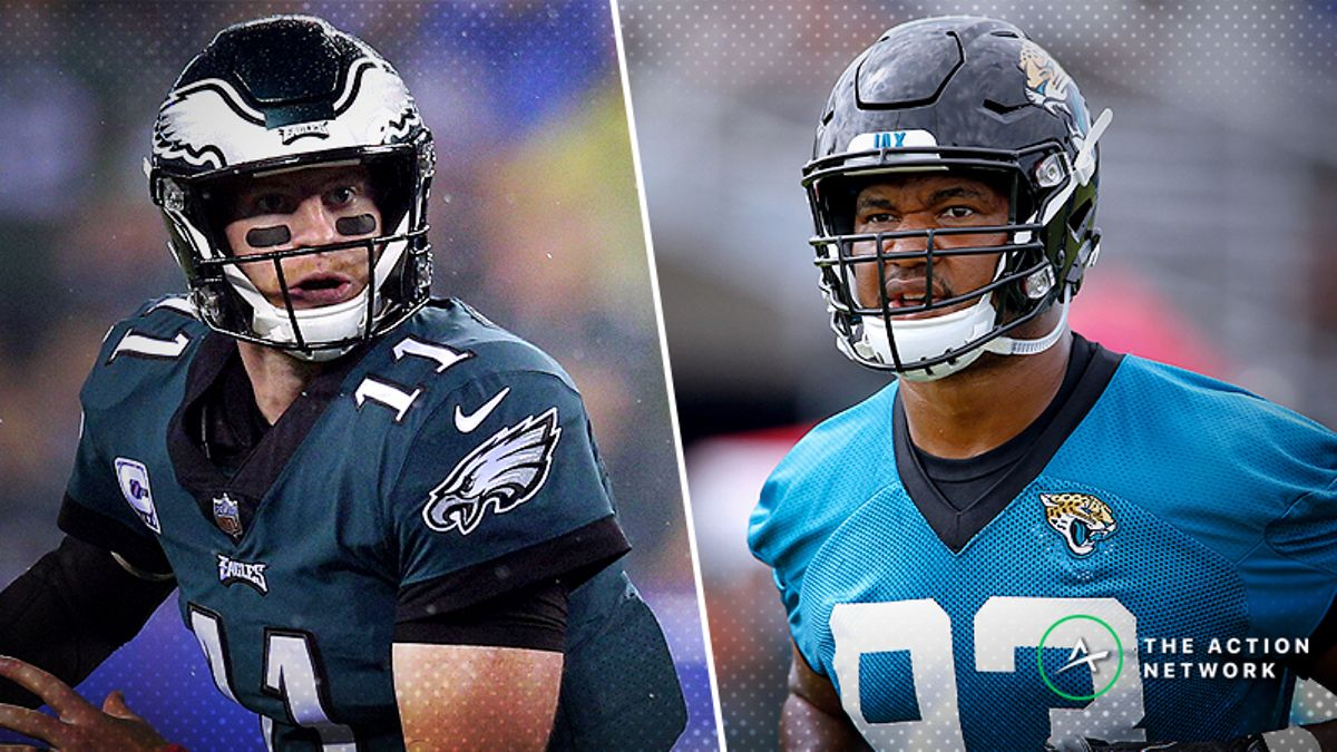 Eagles-Jaguars Betting Preview: Will Jacksonville Right the Ship in London? article feature image
