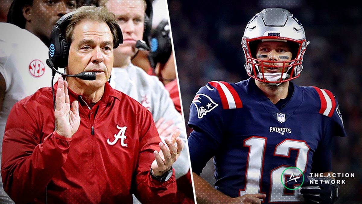 Alabama vs. the NFL: Hypothetical Spreads Against Every NFL Team article feature image