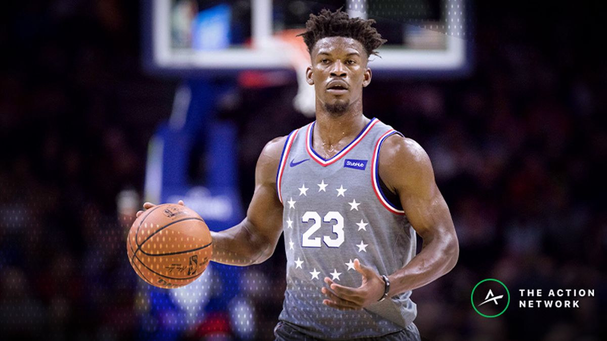 Moore: Jimmy Butler Over/Under 20.5 Points vs. Wizards? article feature image