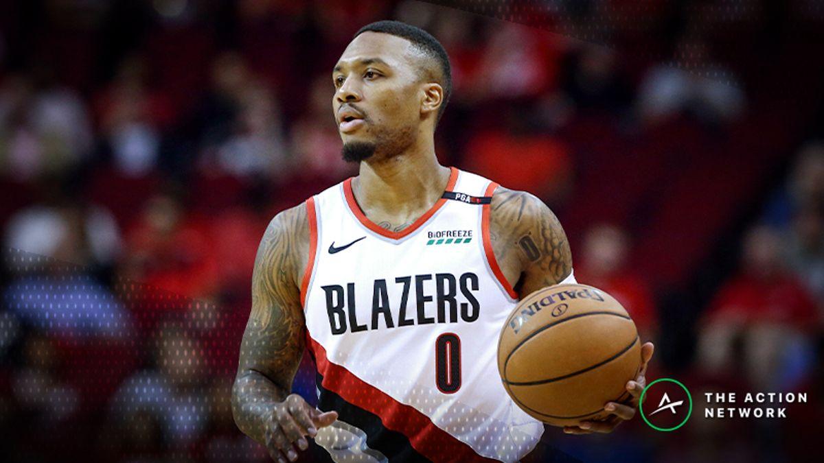 NBA Injury Report: Betting, DFS Impact of Damian Lillard, Myles Turner Injuries article feature image