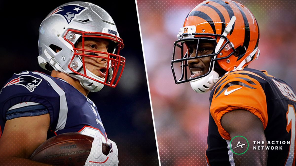 Week 10 NFL Injury Report: Rob Gronkowski, A.J. Green, More Fantasy Football Starters to Monitor article feature image
