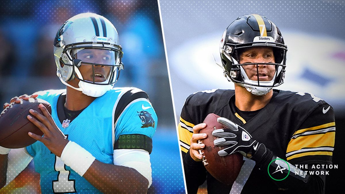 Panthers-Steelers TNF Betting Preview: Ride With Carolina as a Trendy Underdog? article feature image
