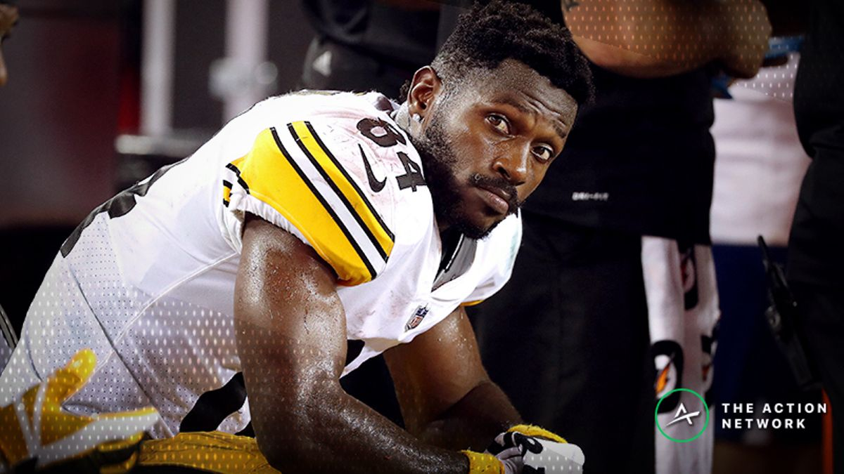 Freedman: Antonio Brown Is Falling Off a Cliff and No One Cares article feature image