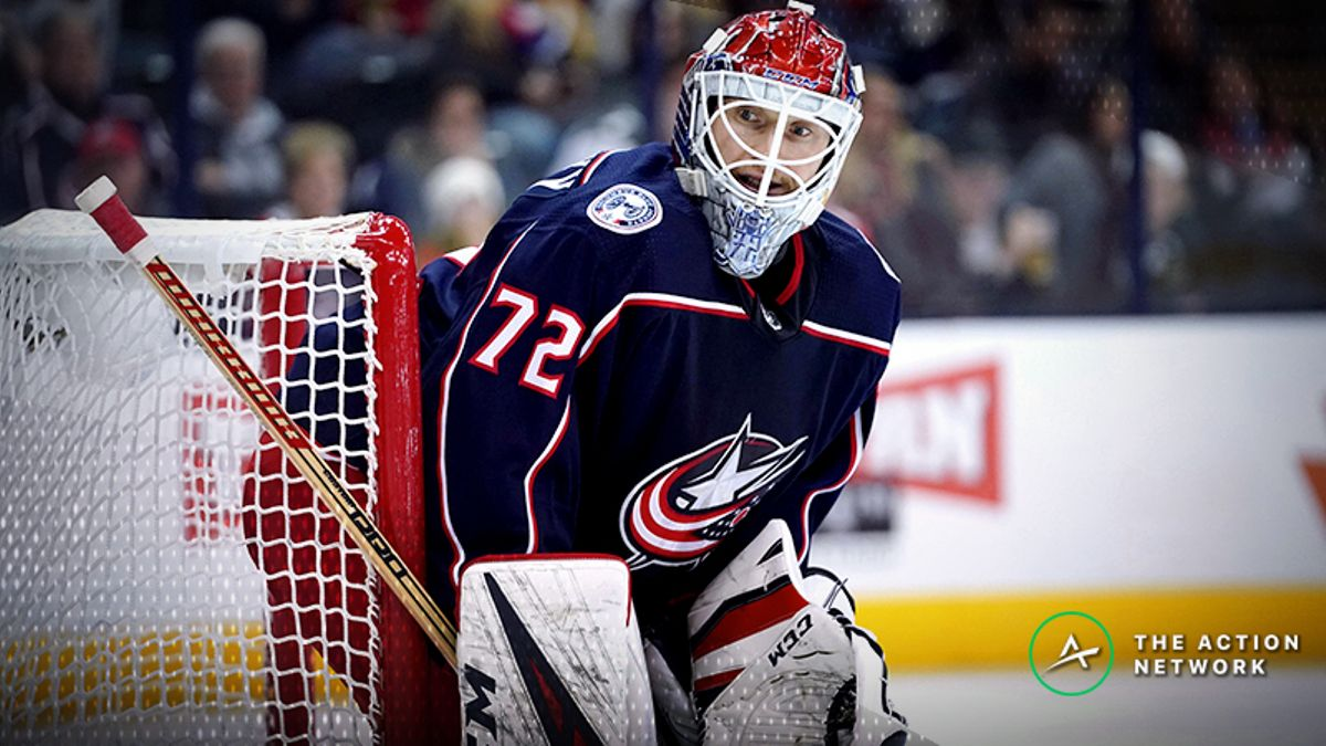 NHL Betting: Will the Real Sergei Bobrovsky Please Stand Up? article feature image
