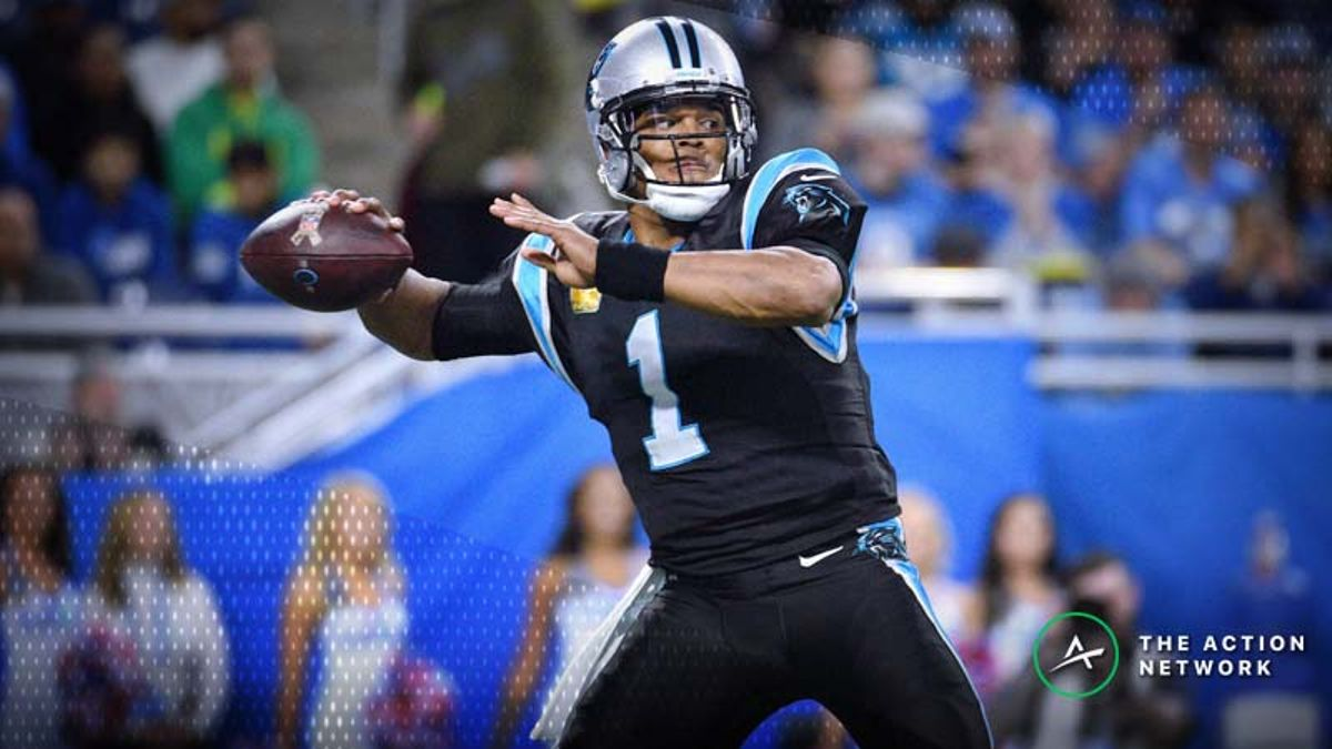 NFL Week 13 Fantasy QB Breakdown: Cam Newton Tops Our Models article feature image