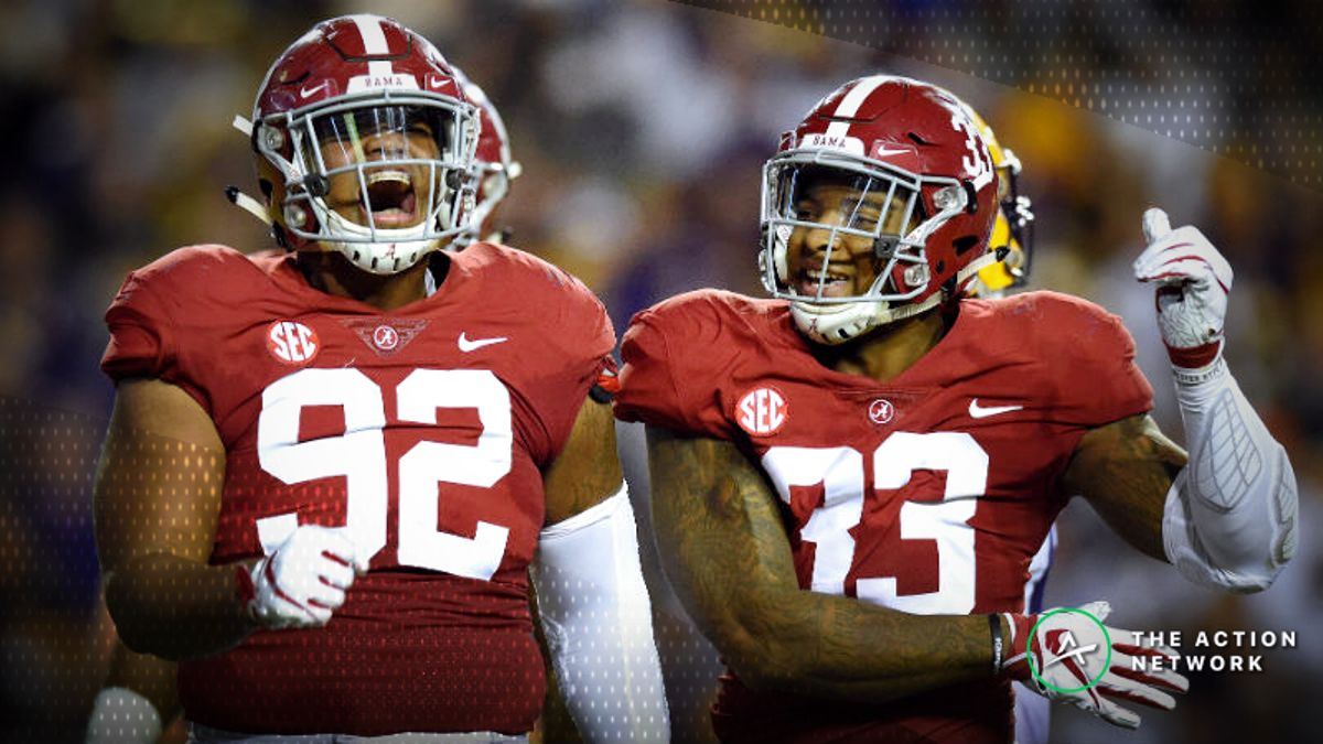 2019 National Championship Betting Picks: Our Staff's Favorite Bets on Clemson-Alabama article feature image