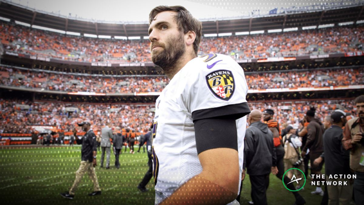 Ravens Favored over Bengals in Week 11 Despite Flacco Injury article feature image