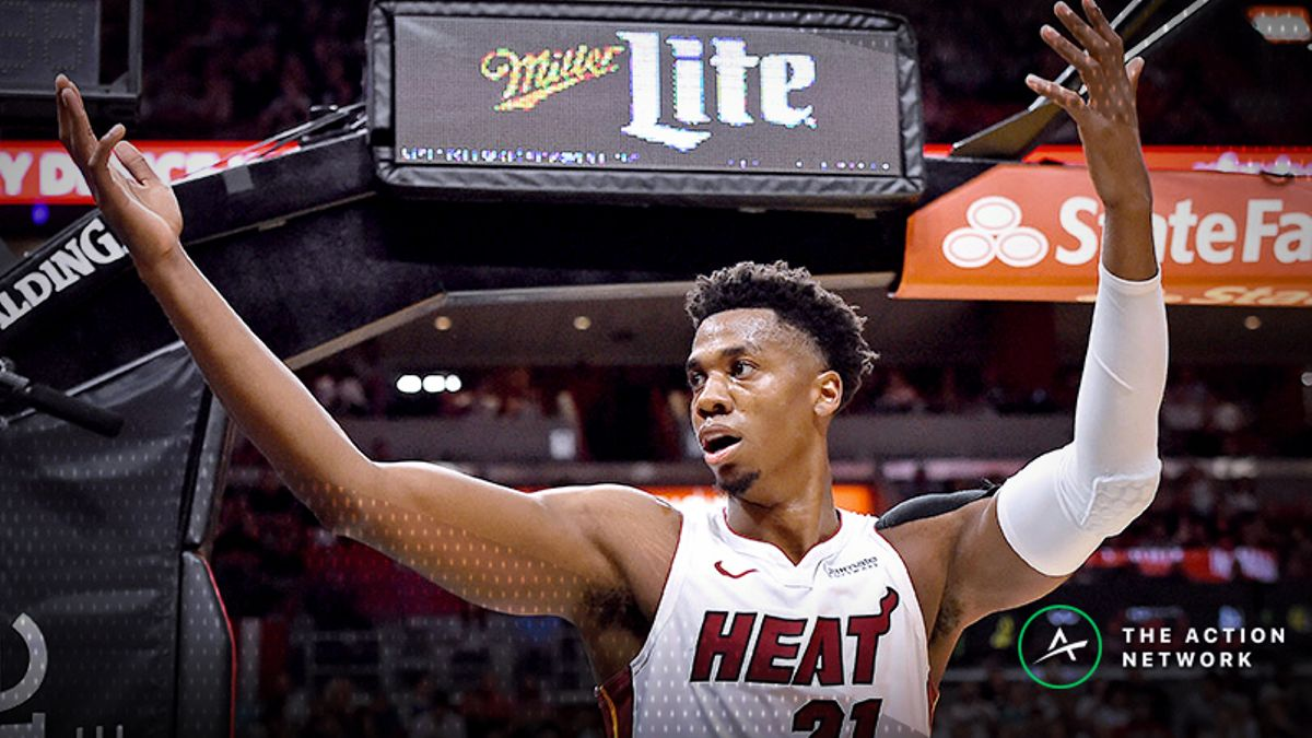 Freedman's Favorite Fantasy Prop Bet (Jan. 15): Will Hassan Whiteside Score More Than 35 Fantasy Points? article feature image