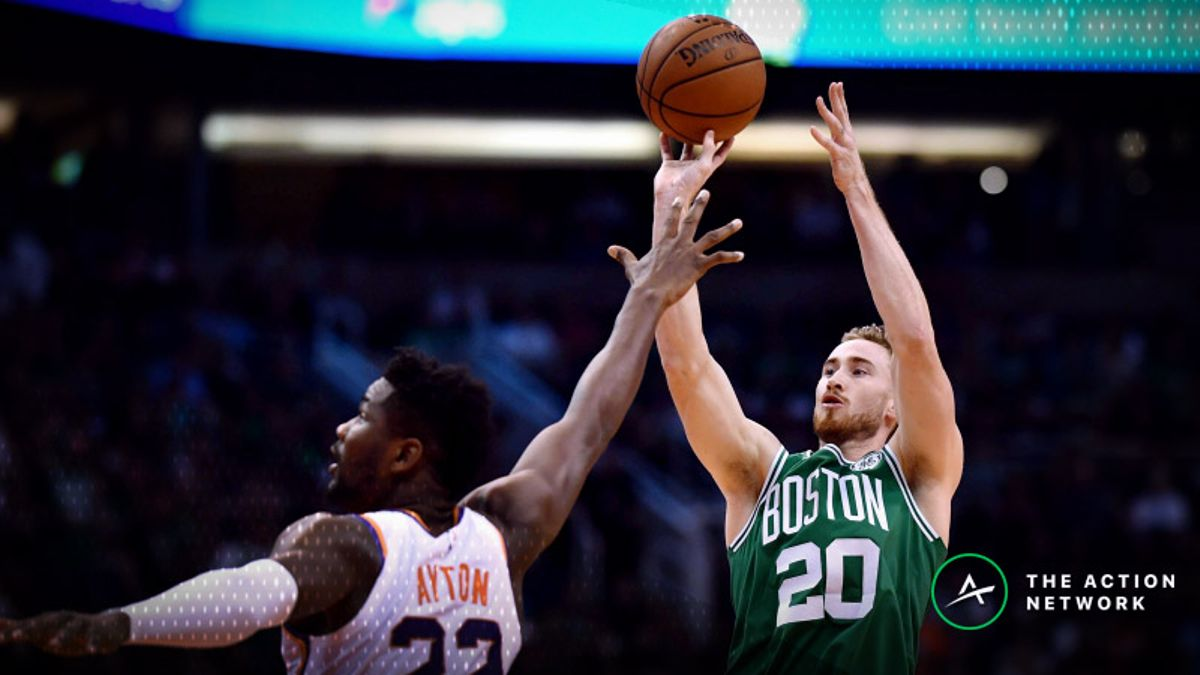 Monday's Best NBA Player Props: Betting Gordon Hayward Points, More article feature image