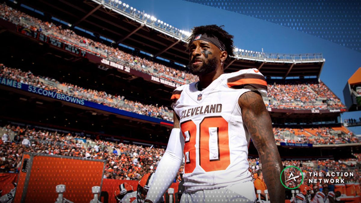 NFL Week 10 Fantasy WR Breakdown: Jarvis Landry to Dominate Falcons in Slot article feature image