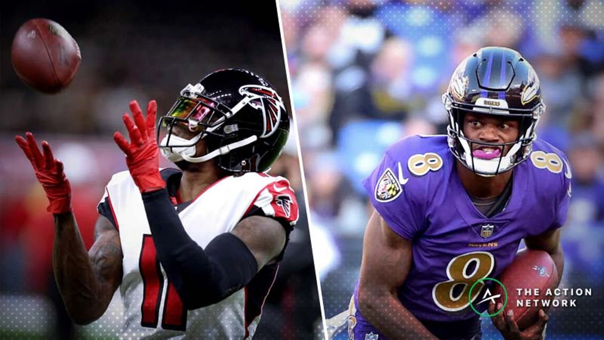 Ravens-Falcons Betting Preview: Bank on Atlanta Snapping Out of Its Funk? article feature image