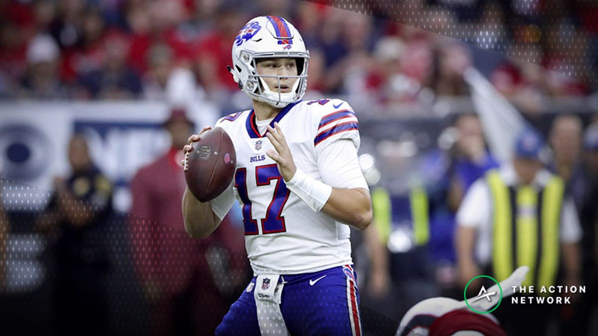 Jaguars-Bills Betting Preview: Behold the Lowest Over/Under of the Season article feature image