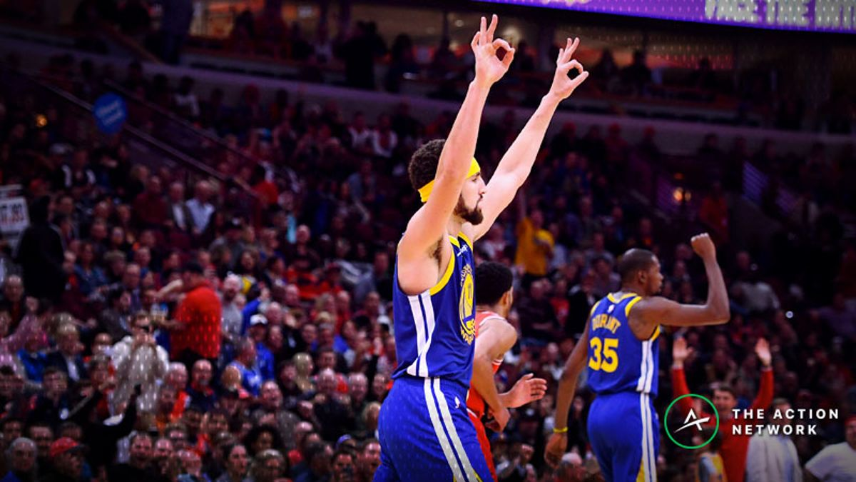 Friday's Best NBA Player Props: Betting Klay Thompson Points, More article feature image