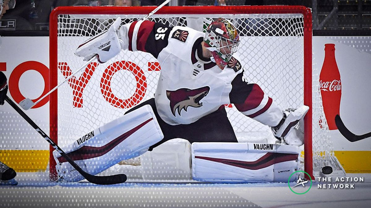 NHL Betting: The Coyotes Are in a Good Spot on Wednesday Night article feature image