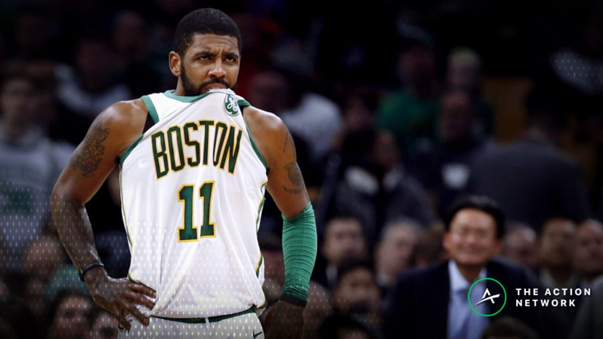 NBA Injury Report: Betting, DFS Impact of Kyrie Irving, Clint Capela Injuries article feature image
