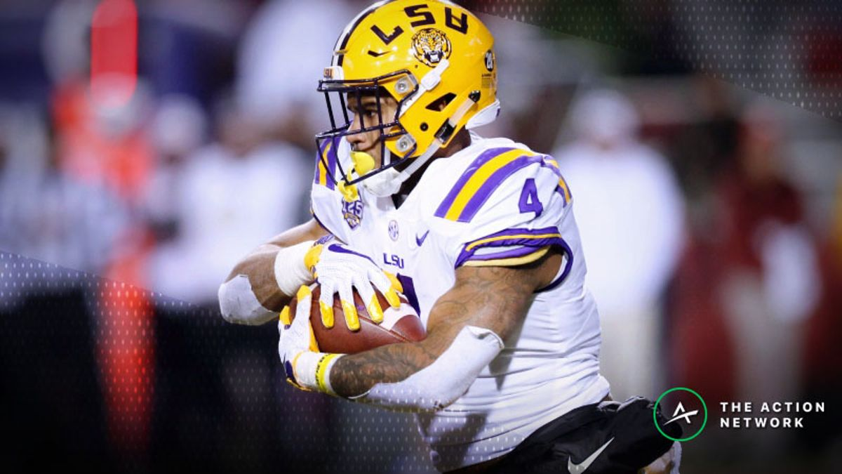 LSU RB Chooses Not to Score, Burns Bettors in Epic Bad Beat Against Arkansas article feature image