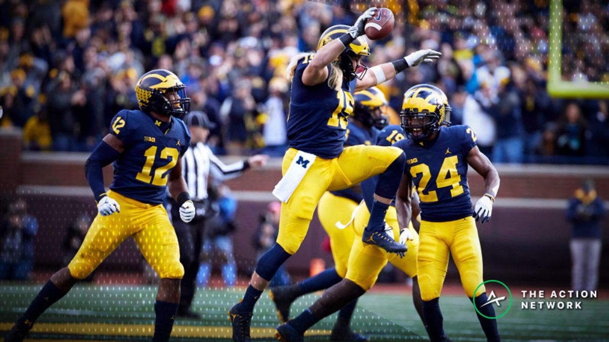 National Championship Odds: Michigan Vaults Into Contention Following Week 10 article feature image