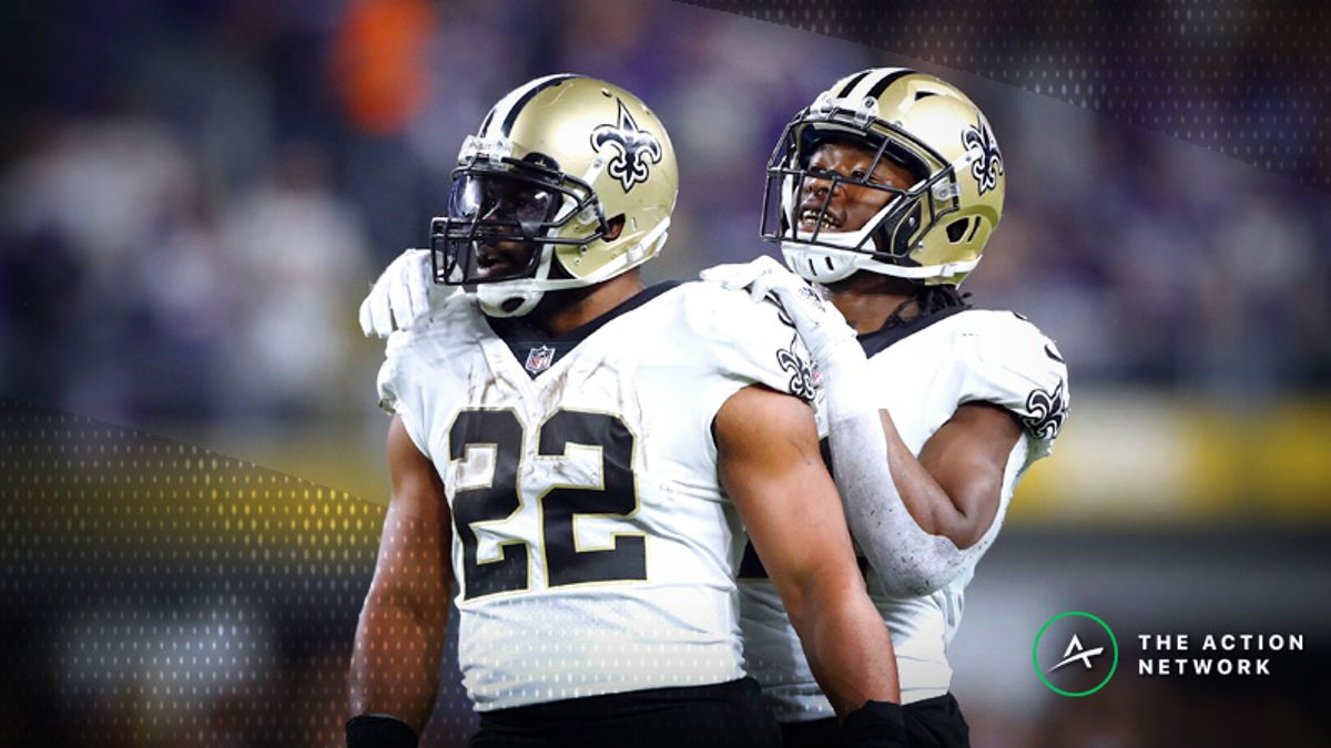 NFL Week 10 Fantasy RB Breakdown: Which Saints, Chargers Back Should You Play? article feature image