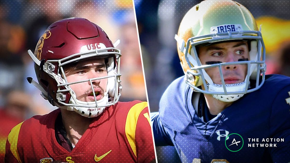 usc notre dame betting odds
