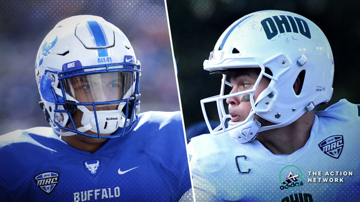 Buffalo-Ohio Betting Preview: Bulls Due for Some Regression? article feature image