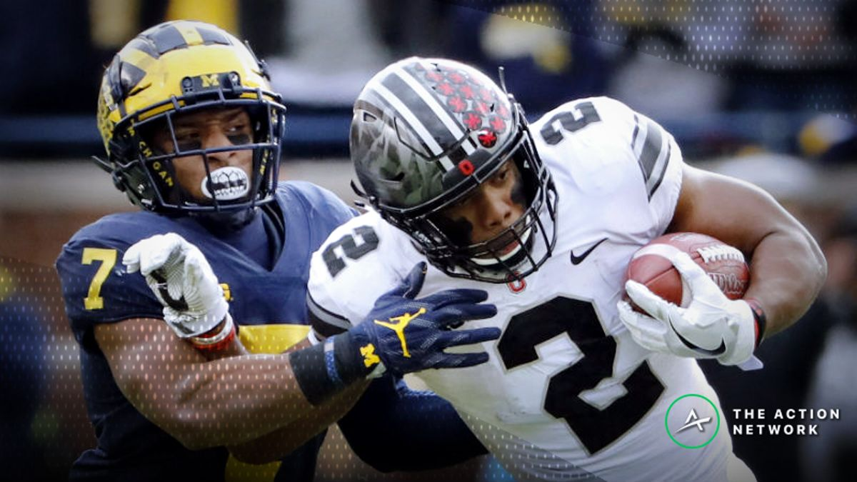 Michigan-Ohio State Betting Odds: Tracking Line Movement for 'The Game' article feature image