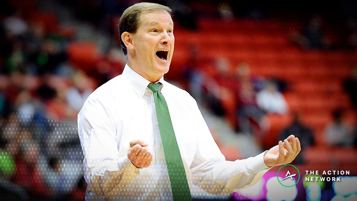 Sharp Action Moving Line for Oregon-Iowa College Basketball Matchup article feature image