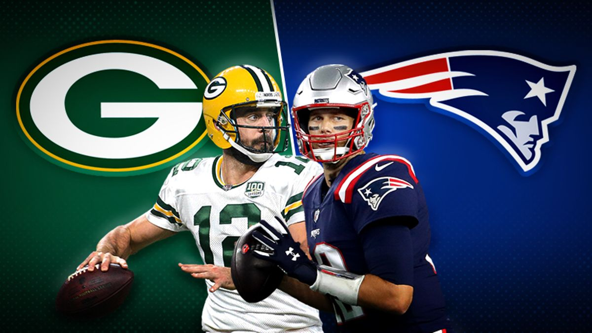Packers-Patriots Betting Preview: Who Will Be the GOAT on SNF — Rodgers or Brady? article feature image