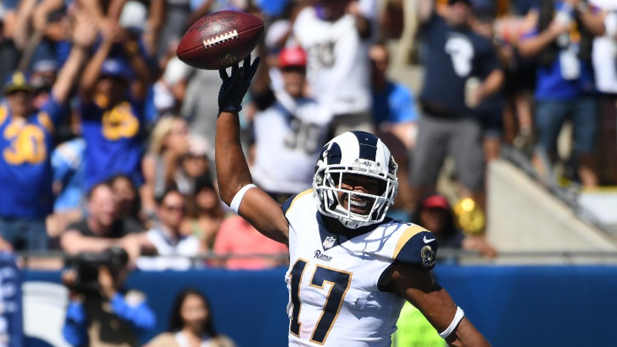 Robert Woods Fantasy Football Rankings, 2019 Projections, Analysis, More article feature image