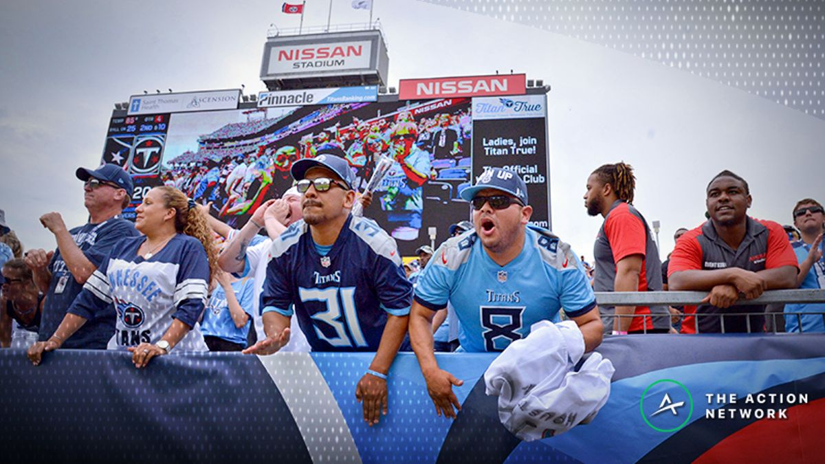 Titans-Texans Betting Odds: Tracking Monday Night Football Line Moves article feature image