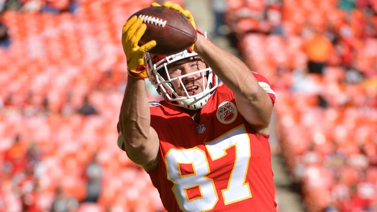 Travis Kelce Fantasy Football Rankings, 2019 Projections, Analysis, More article feature image
