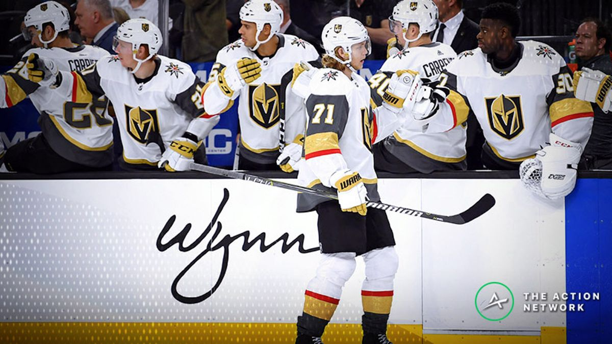 NHL Betting: Will the Knights Continue Their Roll Against the Blackhawks? article feature image