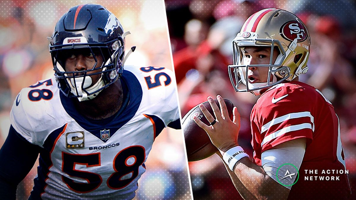 Broncos-49ers Betting Preview: Will Denver Cover as a Popular Road Favorite? article feature image