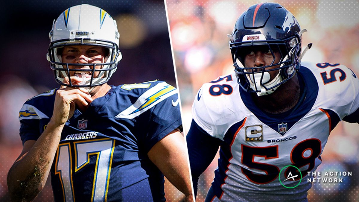 Chargers-Broncos Betting Preview: Back an LA Team Vying for AFC's No. 1 Seed? article feature image